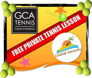 GCA tennis offer