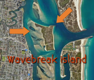 Wavebreak island fishing gold coast