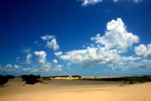 Perfect, undisturbed sand