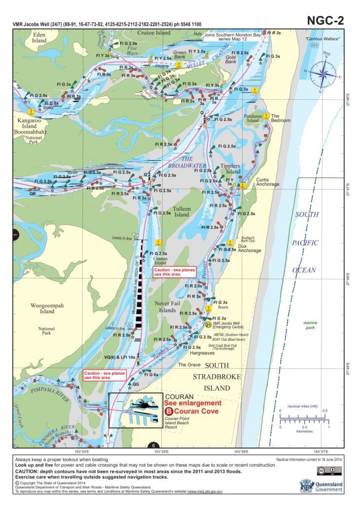 Beacon to Beacon maps of Northern Gold Coast