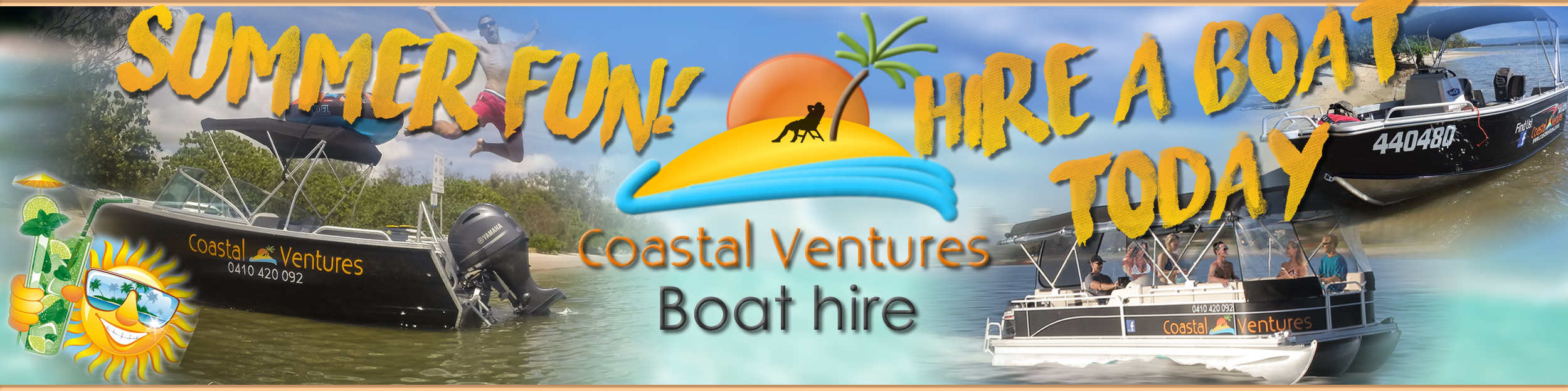 Coastal Ventures Boat Hire