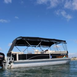 Pontoon hire boat