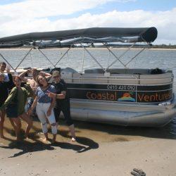 Pontoon hire boat