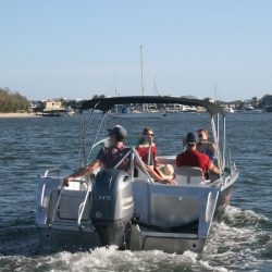 Yamaha 115HP bowrider hire gold coast