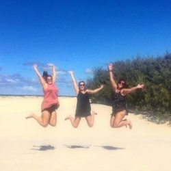 Jumpin on Stradbroke island